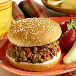 sloppy joes with HUNTERS HOT SAUCE